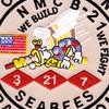 21st Mobile Construction Battalion OIF Patch | Center Detail