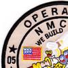 21st Mobile Construction Battalion OIF Patch | Upper Left Quadrant