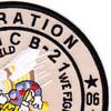 21st Mobile Construction Battalion OIF Patch | Upper Right Quadrant