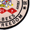 21st Mobile Construction Battalion OIF Patch | Lower Right Quadrant