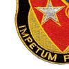 21st Cavalry Brigade Crest Patch | Lower Left Quadrant