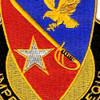 21st Cavalry Brigade Crest Patch | Center Detail