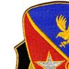 21st Cavalry Brigade Crest Patch | Upper Left Quadrant