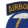 21st Airborne Division Patch | Upper Left Quadrant