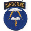 21st Airborne Division Patch
