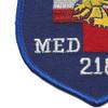 218th Medical Detachment Air Ambulance Patch   Lower Left Quadrant