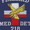 218th Medical Detachment Air Ambulance Patch   Center Detail