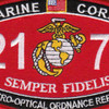 2171 Electro-Optical Ordnance Repairer MOS Patch | Center Detail