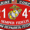 2141 AAV Repairer-Technician Patch | Center Detail