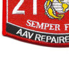 2141 AAV Repairer-Technician Patch | Lower Left Quadrant