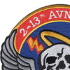 2-13th Aviation Regiment Patch | Upper Left Quadrant