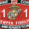 2111-Small Arms Repairer Technician MOS Patch | Center Detail