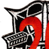 20th Special Forces Group Crest Red 20 Patch | Upper Left Quadrant