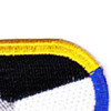 18th Psychological Airbrone Operations Cammand Patch Oval | Upper Right Quadrant