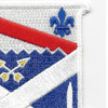 18th Infantry Regiment Patch   Upper Right Quadrant