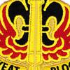 18th Field Artillery Fire Brigade Patch | Center Detail