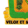 18th Cavalry Regiment Patch | Lower Left Quadrant