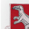 188th Tank Battalion Patch | Upper Left Quadrant