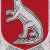 188th Tank Battalion Patch | Center Detail