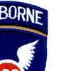 188th Airborne Infantry Regiment Patch - Version D | Upper Right Quadrant