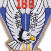 188th Airborne Infantry Regiment Patch - Version A | Center Detail