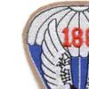 188th Airborne Infantry Regiment Patch - Version A | Upper Left Quadrant