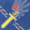 188th Airborne Infantry Regiment Patch | Center Detail
