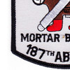 187th RCT Red Legs Mortar Batter Patch y | Lower Left Quadrant
