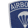 187th RCT Airborne Infantry Patch | Upper Left Quadrant