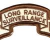 187th LRS Infantry Desert Patch | Center Detail