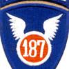 187th Infantry Regiment Patch - Korea Airborne - Version A | Center Detail