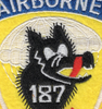 187th Airborne Infantry Regiment Patch - Wolf PG