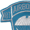 187th Airborne Infantry Regiment Patch - Korea | Upper Left Quadrant