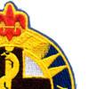 176th Medical Battalion Patch   Upper Right Quadrant