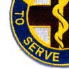 176th Medical Battalion Patch   Lower Left Quadrant
