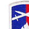 176th Infantry Regimental Combat Team Patch | Upper Left Quadrant