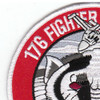 176th Fighter Squadron Alaska Air National Gaurd Patch Badger Air Militia | Upper Left Quadrant