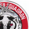 176th Fighter Squadron Alaska Air National Gaurd Patch Badger Air Militia | Upper Right Quadrant