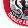 176th Fighter Squadron Alaska Air National Gaurd Patch Badger Air Militia | Lower Left Quadrant