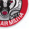 176th Fighter Squadron Alaska Air National Gaurd Patch Badger Air Militia | Lower Right Quadrant