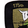 175th Combat Aviation Company Patch Outlaws OD | Upper Left Quadrant
