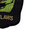 175th Combat Aviation Company Patch Outlaws OD | Lower Right Quadrant
