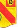 79th Field Artillery Battalion Patch 13 | Lower Right Quadrant