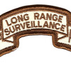 173rd LRS Airborne Infantry Desert Patch | Center Detail