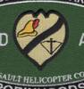 173rd Aviation Assault Helicopter Company Patch - Robin Hoods | Center Detail
