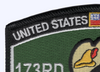 173rd Aviation Assault Helicopter Company Patch - Robin Hoods | Upper Left Quadrant