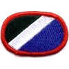 172nd Infantry Regiment Oval Patch