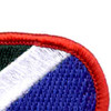 172nd Infantry Regiment Oval Patch | Upper Right Quadrant