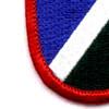 172nd Infantry Regiment Flash Patch | Lower Left Quadrant