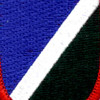 172nd Infantry Regiment Flash Patch | Center Detail